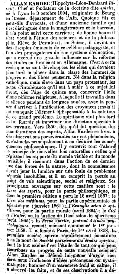 Kardec - Biographie